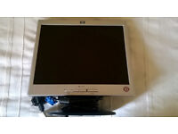 "PC Monitor, HP 15"" flat-screen in good condition"