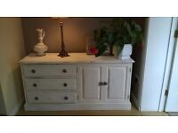 Chest of Drawers Cabinet shabby chic finished style
