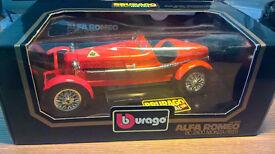 Bburago 1/18 Alfa Romeo 8c 2300 Monza (1931)