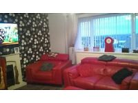 Exchange wanted from 3 bed maisonette Leam Lane Gateshead