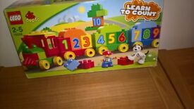 Duplo learn to count train lego