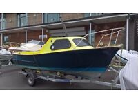 16ft GRP Fishing Boat Loftus Bennet Day Boat