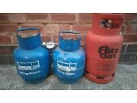 Gas Bottles. Butane.