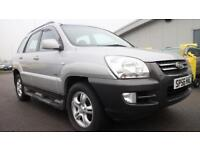 KIA SPORTAGE 2.0 XE CRDI 5d 139 BHP * QUALITY & BEST VALUE ASSURED * (silver) 2006