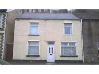 Large House For Rent, Pontypridd, 5 mins from train station.....