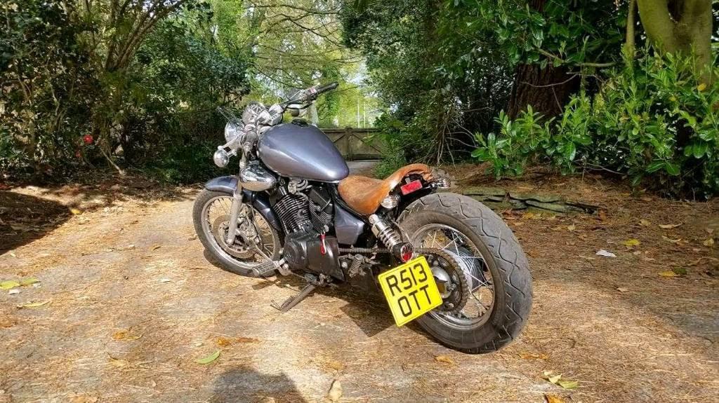 Yamaha virago 125 bobber exhaust for Jd motors austin tx