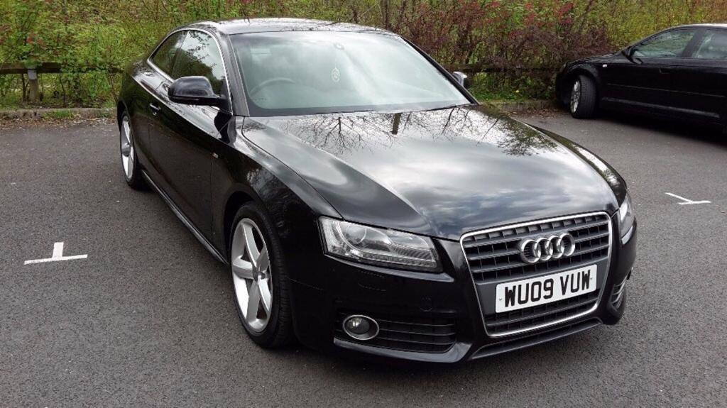 audi a5 s line 2009 coupe in edinburgh gumtree. Black Bedroom Furniture Sets. Home Design Ideas