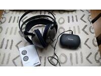 phillips cordless headphones