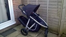Phil and Ted's Vibe double pram buggy