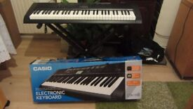 Casio Electronic key board CTK1150, first owner neverused all working fine, with stand. £65,00