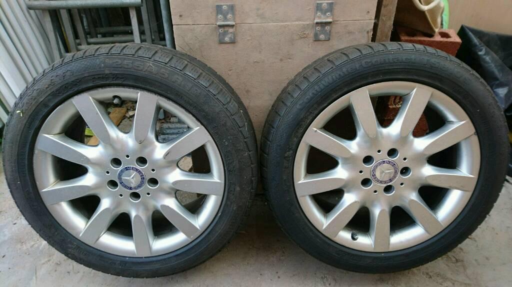 2 Mercedes Benz Tyres