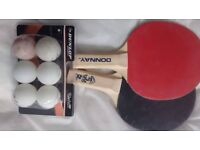 Racket & 6 Balls (table tennis)