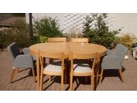 For sale: IKEA retro style table and 6 chairs (used