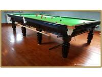 Snooker Table - Full Size 12x6ft