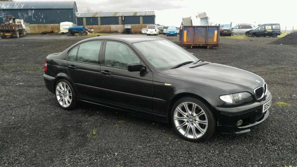 2004 facelift bmw 320d m sport mot to september in. Black Bedroom Furniture Sets. Home Design Ideas