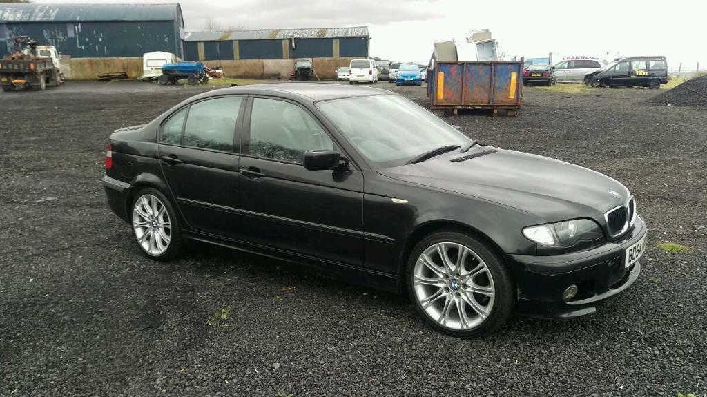 2004 facelift bmw 320d m sport mot to september in lisburn county antrim gumtree. Black Bedroom Furniture Sets. Home Design Ideas