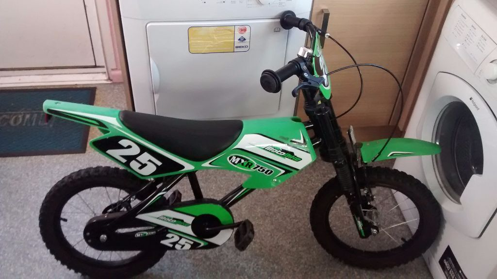 Kids Bike 5 To 7 Years Motorbike Look A Like In