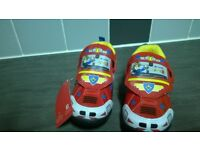 Toddler fireman sam trainers size 5