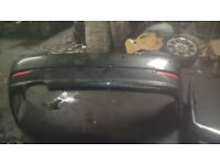 bmw 5 series 2007 rear bumper in grey mint condition bmw e60 525i