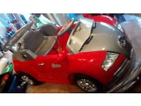 Bugatti Veyron sports roadster electric ride on in red (new)
