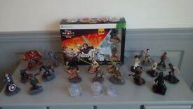 Xbox 360 – Disney Infinity 3.0 Star Wars, 19 Figures, 3 Crystals & 6 Power Disc's. From £20