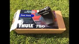 Thule 750 foot pack and roof bars