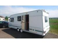 TWIN WHEEL 4BERTH SWIFT CHALLENGER WITH END BATHROOM AND AWNING WE CAN DELIVER PLZ VIEW