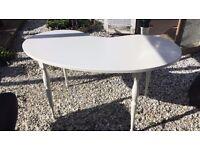 White Ikea desk/table
