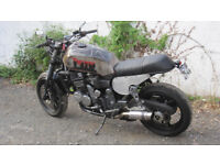 *** TRIUMPH STREET TRACKER, BRAT TRACKER ONE OFF CUSTOM ***
