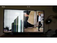 Sharp Aquos 50' slim smart tv