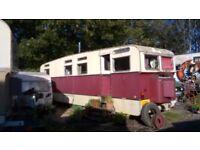 1960's Sipson Showmans Caravan.