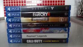 7 PS4 games