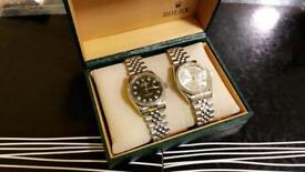 Rolex wristwatch watch men's women's designer fashion retro style bargain free loc del eid sale