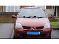 Offer me Sale/Swap Renault Clio 1.2 Long MOT 70K. £ 675