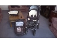 Baby-Merc 2 in 1 Pram & Buggy , very good condition.