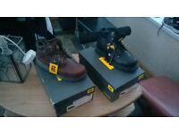 brand new catapiller boots
