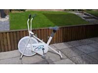 V-Fit AC2 Air Cycle exercise bike, excellent condition.