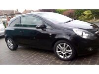 VAUXHALL CORSA 1.2i WITH TINTED REAR WINDOWS AND ALLOYS FULL MOT AND FUEL