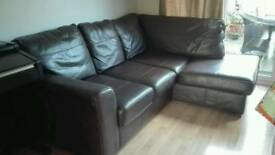 Next leather corner sofa