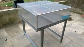 Chick Brooder Rearing Table