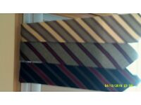All Wool Ties ( Vintage Collection) From !970's By M&S