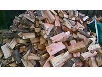firewood blocks .. well seasoned and great burn