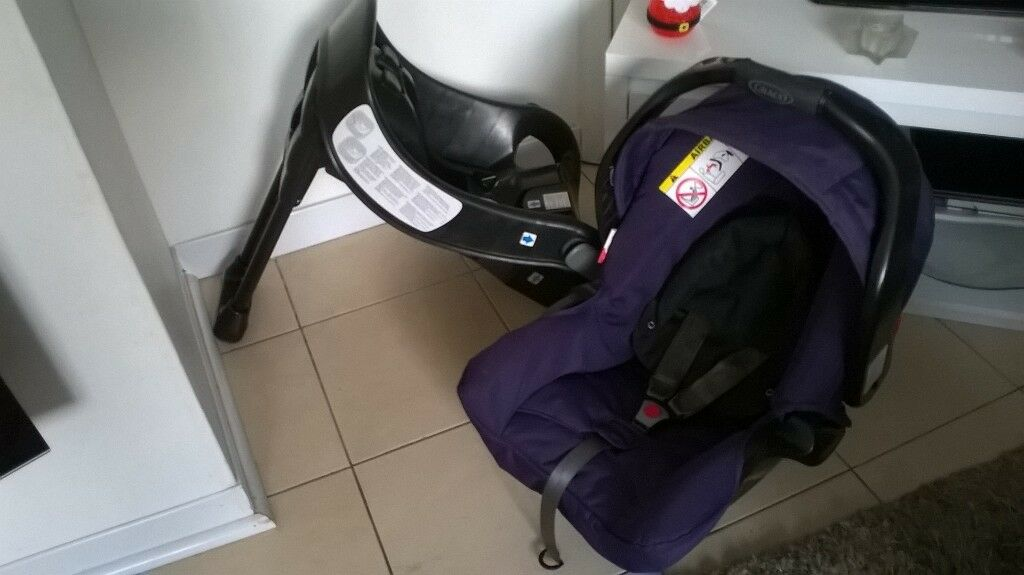 NICE CLEAN GRACO CAR SEAT , CARRIER WITH BASE | in Bilborough ...