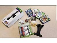 Xbox 360 Kinect Sensor + Games