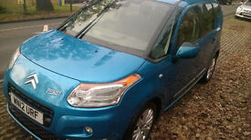 NOE FOR 5000, - ONLY : Citroen C3 Picasso Exclusive 1.6 HDI 8v 4(90bhp) MPV 5d 1560cc