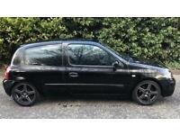 RENAULT CLIO DYNAMIQUE 3 DOOR 1.4L (2005) year mot low 52.000 miles, MODIFIED