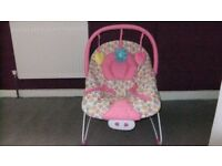 Mothercare Girls Pink Bouncer