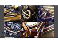 Stainless steel Exhaust welding