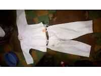 Karate / martial arts Gi's, belts and pads - Job lot!!