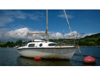 LEISURE 17 Yacht good useable condition,afloat River Tamar